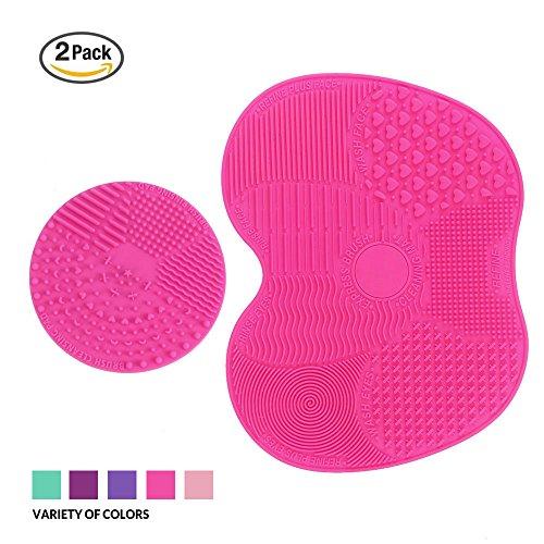makeup-brush-cleaner-esarora-makeup-brush-cleaner-pad-set-of-2-cosmetic-brush-cleaning-mat-portable-