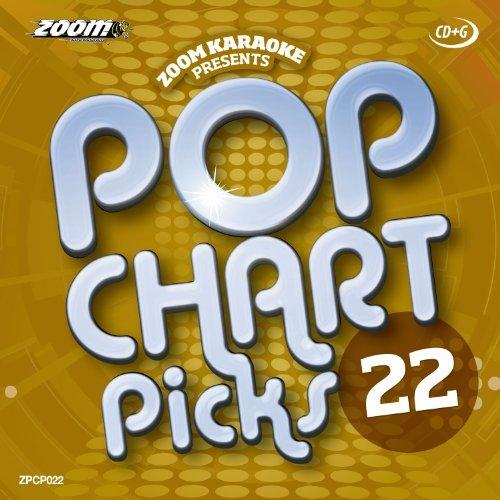 Zoom Karaoke CD+G - Pop Chart Picks 22 - 20 Tracks [Card Wallet] By Zoom Karaoke (2014-06-18)
