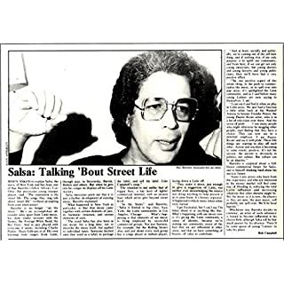 SL20/2/76p4 Article & Picture : Salsa- Talking About street life (Ray Baretto)