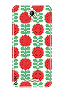 Noise Lava Z25 Printed Cover For Lava Z25 Case / Patterns & Ethnic / Healthy red Design -(TP-170)