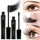 MayBeau 4D Mascara Kit Wimperntusche mit Silk Fiber Mascara Cream Wasserdicht...