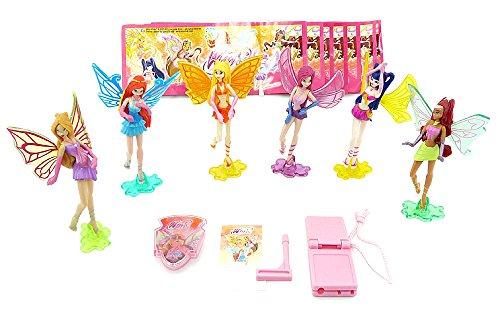 WinX Club Figuren als Testware 2011 mit Zubehör aus dem Ü-Ei (Winx Club Figuren)