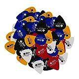 IKN 0.71mm medie chitarra Pickguard ABS Plectrums per elettrica acustica classica chitarra basso, 50pcs