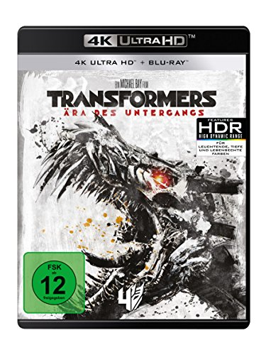 Transformers 4 – Ära des Untergangs (4K Ultra HD) (+ Blu-ray 2D)