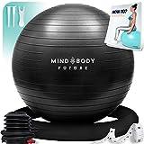 Gymnastikball Mind Body Future. Swiss Ball perfekt als Sitzball u. Therapieball....