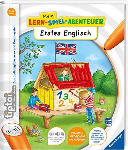 tiptoi® Erstes Englisch (tiptoi® Mein Lern-Spiel-Abenteuer) (Lern-spiele Für Kindergarten)