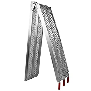 Folding loading ramp scooter ramp ATV Quad portable aluminium 89x11.6 inches 750lbs (226cm 340kg)