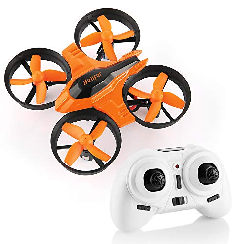 HELIFAR Mini Drone, F36 Mini RC Drone 2.4G 4 Channels 6-Axis Gyro 3D-Flip UFO Remote Control RTF Quadcopter with a Return Key, Headless Mode Big Gifts Toys