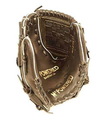 mpowered Korb Web Kuh/Schwein Baseball Handschuh, schwarz