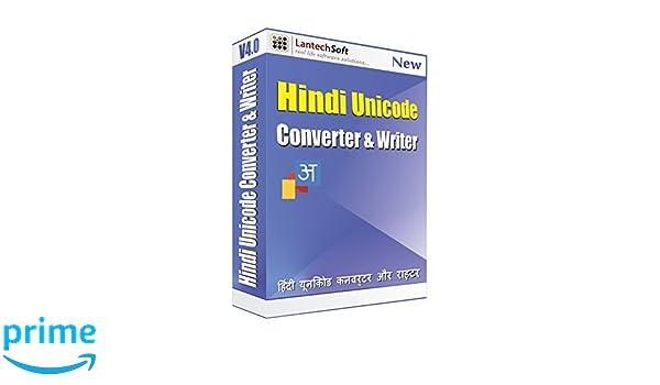 Lantech Soft Hindi Unicode Converter & Writer - 1 PC, 1 Year