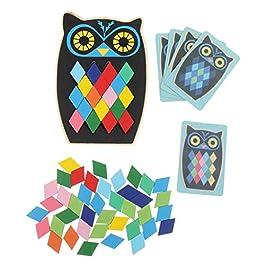 8c46f7bf1b B Blesiya Puzzle Legno Geometria Giocattoli Educativi Sviluppo del Bambino  Puzzle Gioco Giocattolo M