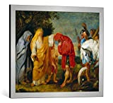 Kunst für Alle Cuadro con Marco: Peter Paul Rubens Decius Mus fügt Sich...