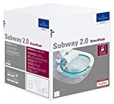 Villeroy & Boch 5614R2R1 2.0 WC-Kombi-Pack mit Ceramic+ Weiß