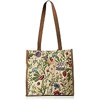Signore/ragazze Shopping Bag a tracolla in tela Mattina Giardino