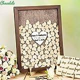 GUESTBOOK Gästebuch Hochzeit Schattenbox Gästebuch Braun Hochzeitsidee Alternative Gästebuch Hochzeit Erinnerungsbuch Rahmen Gästebuch rustikal Herz Dropbox N646344