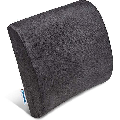 Cuscino Lombare Memory Foam per Terapia della Postura - Sostegno ergonomico per la Schiena - Cuscino per casa, Ufficio, Auto e Viaggio - Allevia e previene Il Dolore alla Schiena