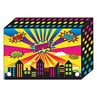 Ashley Productions ASH90300 Decorated Poly Index Card Box, 3