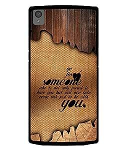 PrintVisa Designer Back Case Cover for OnePlus X :: One Plus X (Love Lovely Attitude Men Man Manly)