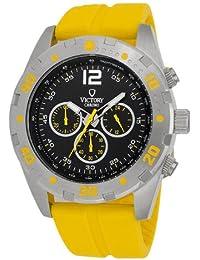 bc9334405d18 Victory Reloj Victory V-Conquest Negro Amarillo 46 mm