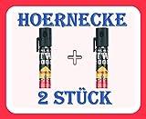 2er Set / 2 Stück Hoernecke Pfefferspray TW 1000 Pepper-Fog Lady mit Clip (20 ml) passt in jede Handtasche und Hose