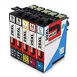 JETSIR Compatible Cartuchos de tinta Reemplazo para Epson 29XL, Alta Capacidad Compatible con Epson...