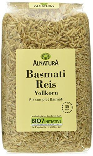 Alnatura Bio Basmati Vollkorn, 6er Pack (6 x 500 g)