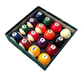 "ARAMITH PREMIER QUALITY 2"" SPOTS AND STRIPES POOL BALLS"