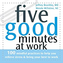 Five Good Minutes at Work: 100 Mindful Practices to Help You Relieve Stress and Bring Your Best to Work (The Five Good Minutes Series) by Jeffrey Brantley MD (2007-07-01)