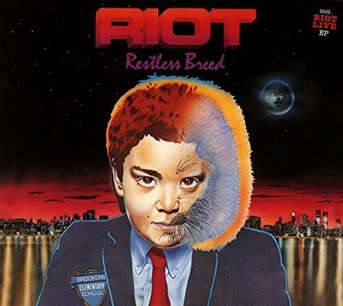 Riot: Restless Breed Reissue (Audio CD)