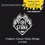 Fire & Stone 651820 Cordes pour Guitare Classique