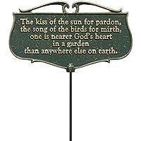 Whitehall Prod. Garden Poem Signs