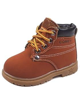 WENJHEN - botas de nieve Unisex, para niños