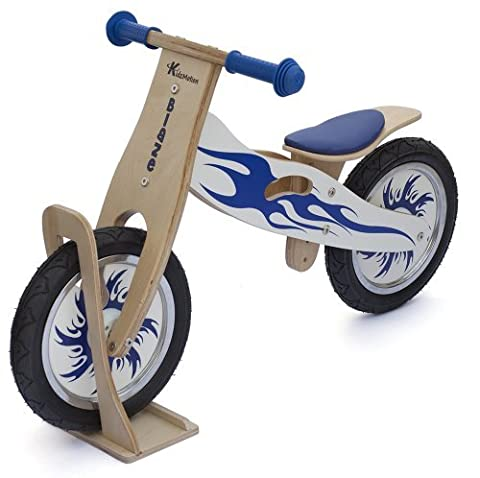 Blaze Wooden Balance Bike with stand