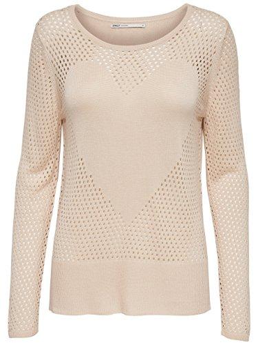 Only Damen Pullover onlMARIKE L/S Pumice Stone (15129664)