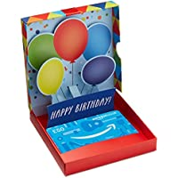 Amazon.co.uk Gift Card In a Gift Box (Birthday Pop-Up)