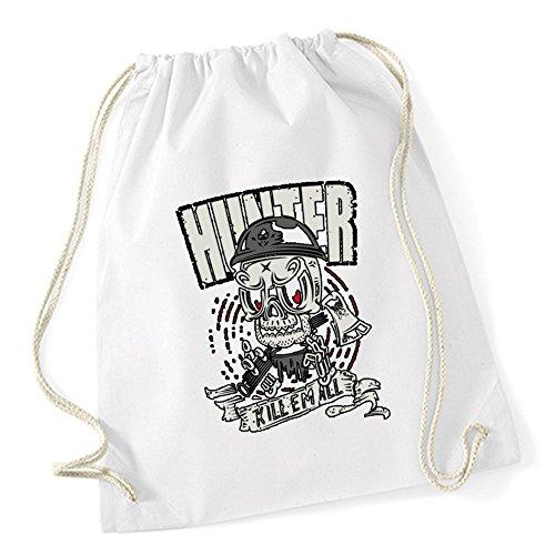 Hunter Killer Gymsack White Certified Freak -