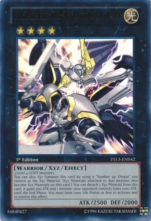 Yu-Gi-Oh! - Number C39: Utopia Ray (YS13-EN042) - Super Starter: V for Victor...