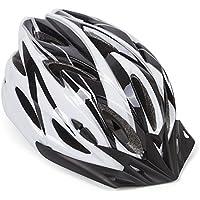 Hoaey Adulte réglable casque de vélo de montagne Vélo de route casque de vélo avec visière 18Évents Reniflard de sécurité protéger Chapeau pour sports de plein air (57–63cm)