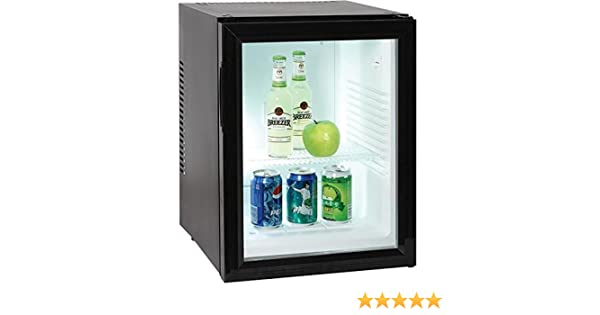 Mini Kühlschrank Vergleich : Minibar kleiner mini kühlschrank mit glastür für getränke liter