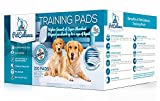 Puppy Dog Training Pads for Puppies Pet Pee Mat Large (100 Pack) |Puppy House Train Piddle|Wee Wee Mats with Attractant Scent|Absorbs 200% More Liquid|Anti Slip & Leakproof|60cm x 60cm