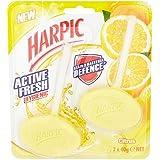 Harpic Fresh Active Lot de 2 blocs de Citrus 2 x 40 g