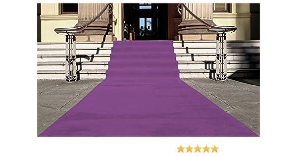Eventteppich VIP Event-Teppich-L/äufer 1,00m x 22,00m Empfangsteppich Hochzeitsl/äufer PODIUM Wei/ß mit Schutzfolie Hochzeitsteppich Teppichboden f/ür Messe /& Event