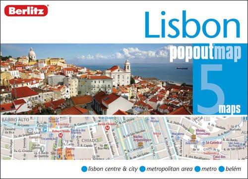 Lisbon Berlitz PopOut Map (Berlitz PopOut Maps) por Berlitz
