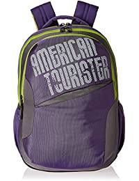 American Tourister 25 Ltrs Purple Casual Backpack (CLICK 2016)