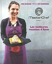 Les meilleures recettes d'Anne - Masterchef