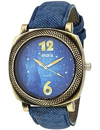 Oura Analouge Denim Blue Dial Round Boys & Men,s Watch
