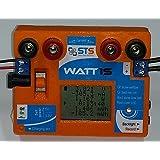 STS Watt1S 16A - Innovant Wattmètre Multimètre USB DC Ampèremètre Voltmètre testeur compteur moniteur energie consommation