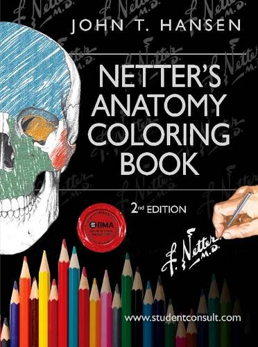 Netter's Anatomy Coloring Book, with Student Consult Access, 2nd Edition