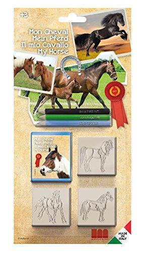 Multiprint 03895 - Stempelset Mein Pferd, 7 teilig