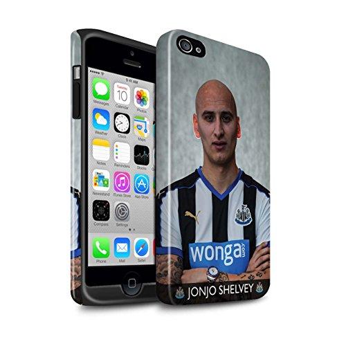 Offiziell Newcastle United FC Hülle / Glanz Harten Stoßfest Case für Apple iPhone 4/4S / Pack 25pcs Muster / NUFC Fussballspieler 15/16 Kollektion Shelvey